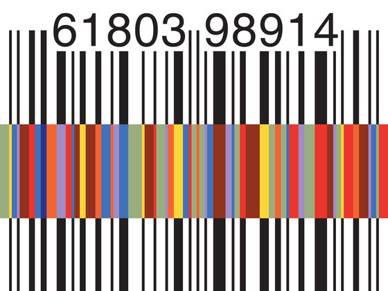 Barcode by Cobalti | Wall art / Murals