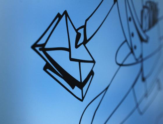 Glasnost.Glass.Michl-Luz Briefkasten von keilbach | Briefkästen