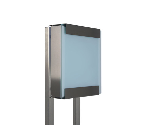Glasnost.Glass.White Mailbox by keilbach | Mailboxes