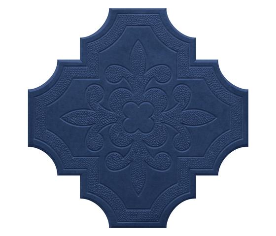 Flaster Dark Blue by IVANKA | Concrete/cement floor tiles