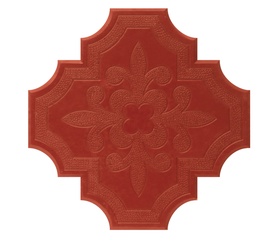Flaster Red by IVANKA | Concrete/cement floor tiles