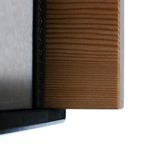 Glasnost.Wood.Larch Briefkasten von keilbach | Briefkästen