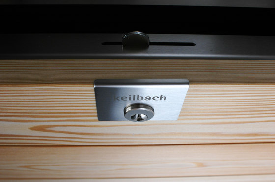 Glasnost.Wood.Larch Mailbox by keilbach   Mailboxes