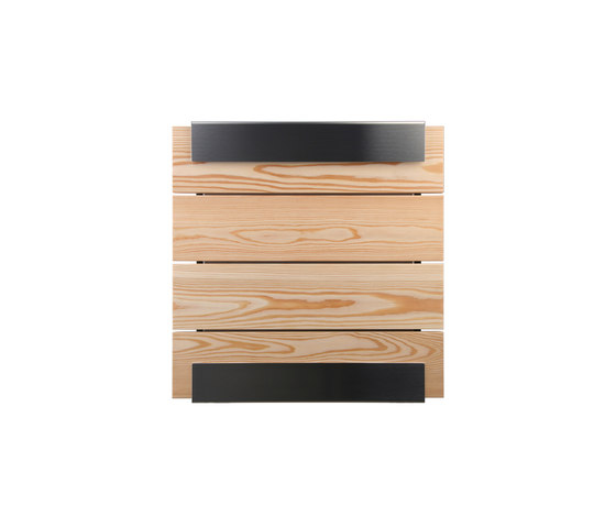 Glasnost.Wood.Larch Mailbox by keilbach | Mailboxes