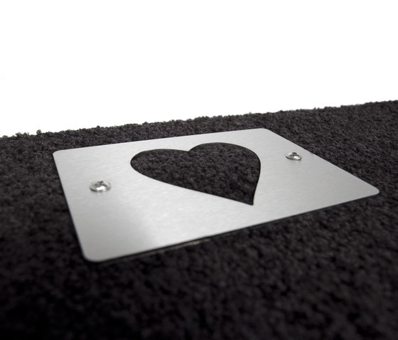 Heart Doormat by keilbach | Door mats
