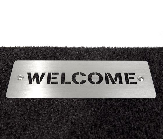 Welcome Doormat di keilbach | Zerbini / Tappetini