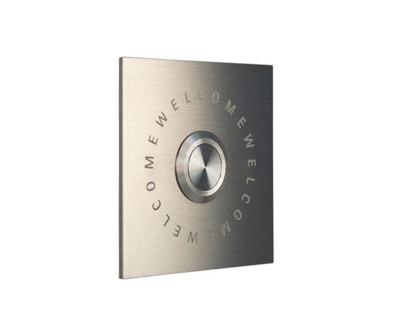 Jingle.Welcome.Square Doorbell by keilbach   Door buzzers