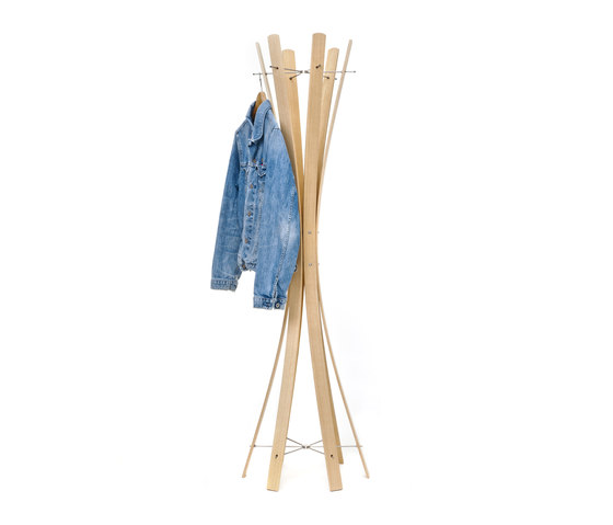 Naomi.Ash Coat Rack by keilbach | Freestanding wardrobes
