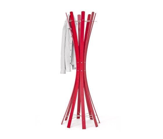 Naomi-Grande.Red Coat Rack by keilbach | Freestanding wardrobes