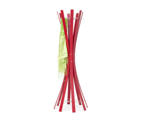 Naomi-Grande.Red Coat Rack by keilbach   Freestanding wardrobes