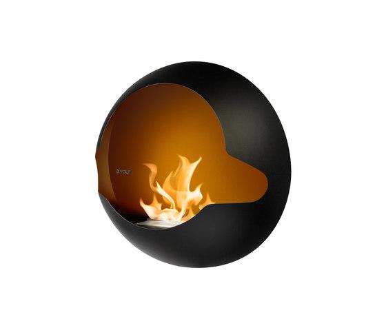 Cupola black by Vauni Fire   Ventless ethanol fires