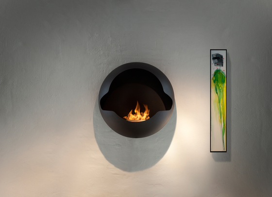Cupola black by Vauni Fire | Ventless ethanol fires