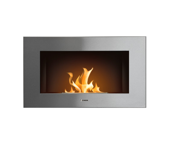 Edge stainless by Vauni Fire | Ventless ethanol fires