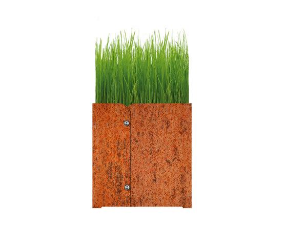 Phi.Iron Planter by keilbach | Flowerpots / Planters