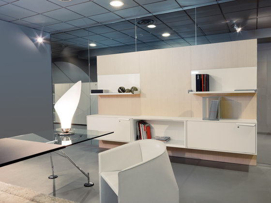 WL Partition by Tecno | Shelving
