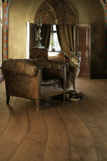 Rustic Oak stained oil solid by Bolefloor | Wood flooring