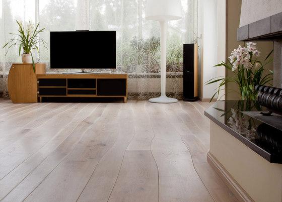 Rustic Oak natural oil parquet by Bolefloor | Wood flooring