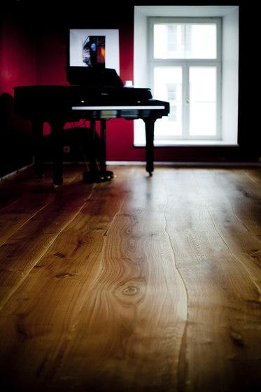 Rustic Oak stained oil parquet by Bolefloor | Wood flooring