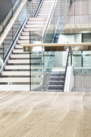 Rovere Naturale con alburno grezzo massello di Bole | Pavimenti legno