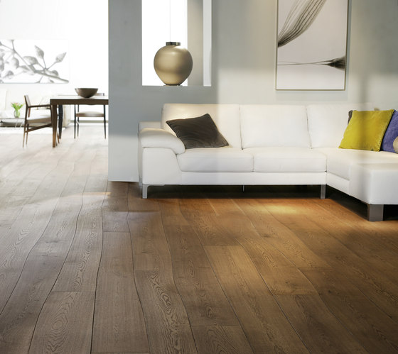 Natural Oak without sapwood natural oil parquet by Bolefloor | Wood flooring