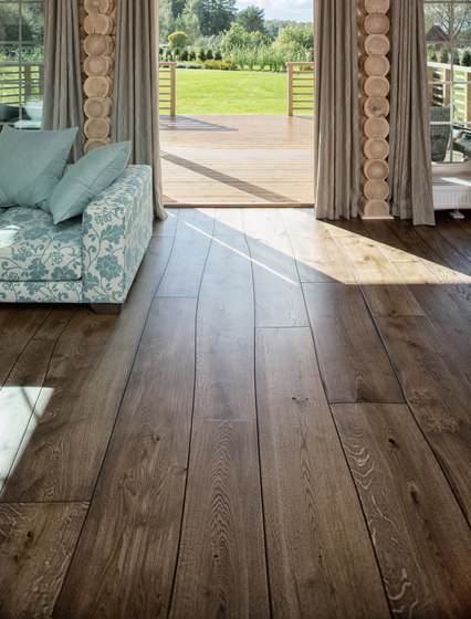 Natural Oak without sapwood stained oil parquet by Bolefloor | Wood flooring