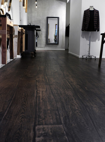 Select Oak stained oil parquet by Bolefloor | Wood flooring