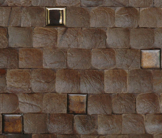 Cocomosaic tiles espresso bliss with ceramic by Cocomosaic | Wall mosaics
