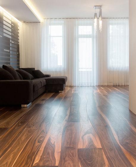 Walnut stained oil solid by Bolefloor | Wood flooring