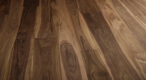 Walnut unfinished parquet by Bolefloor | Wood flooring