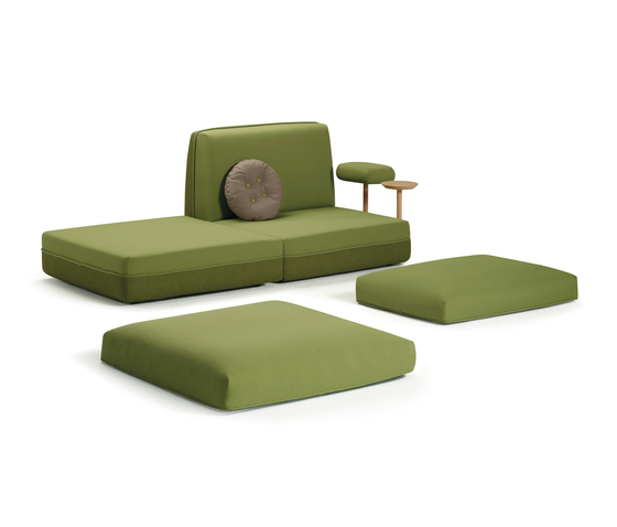 Party by Sancal | Modular seating elements