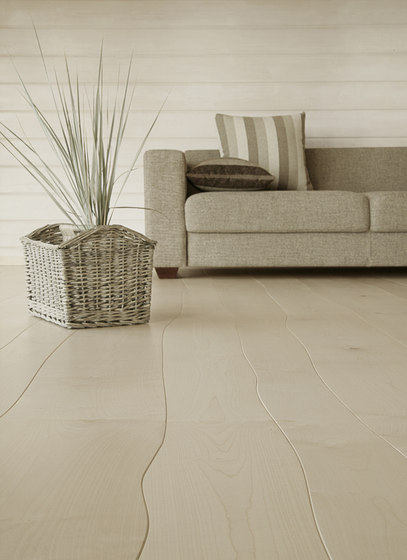 Maple unfinished parquet by Bolefloor | Wood flooring