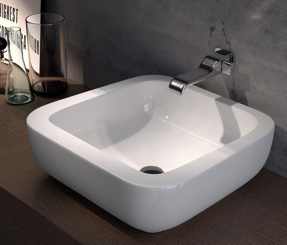 Como by Ceramica Flaminia | Wash basins