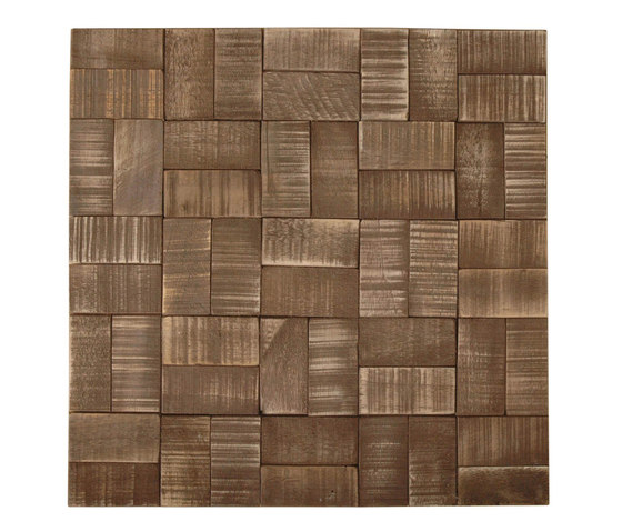 Cocomosaic envi square espresso wash by Cocomosaic | Floor tiles