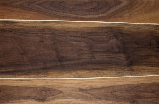 Walnut with maple inlay by Bolefloor | Wood flooring