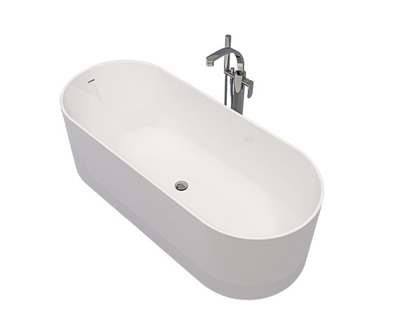 Oval by Ceramica Flaminia | Free-standing baths