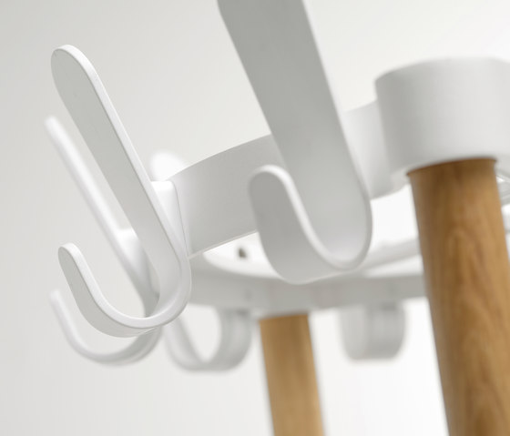 Sticks Round de van Esch | Portemanteaux sur pied