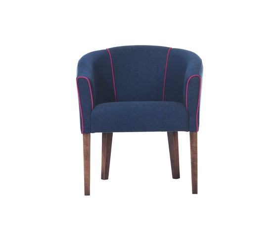 Pozzo armchair by TON | Lounge chairs