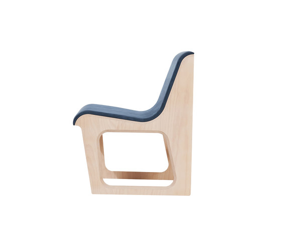 Symposio bench upholstered di TON | Panche attesa