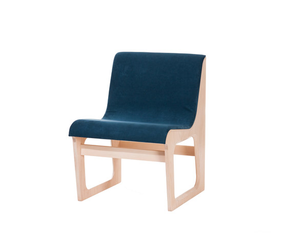 Symposio bench upholstered by TON | Waiting area benches
