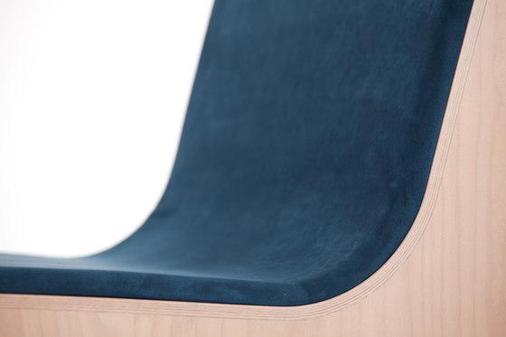 Symposio Sitzbank gepolstert von TON | Wartebänke