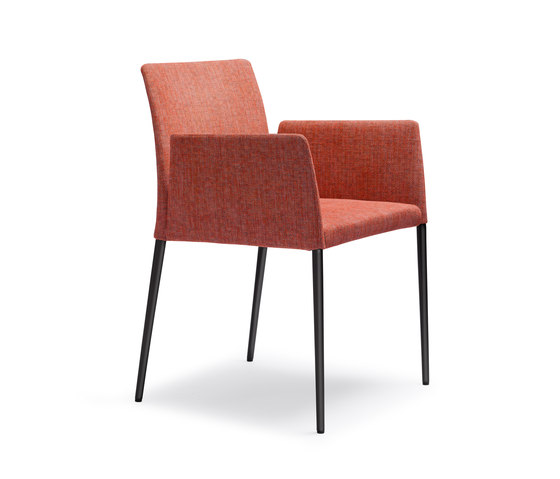 Deen chair with armrests de Walter Knoll | Sièges visiteurs / d'appoint