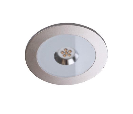 AR 78-LED - Flat and Powerful Recessed LED Luminaire di Hera | Lampade spot