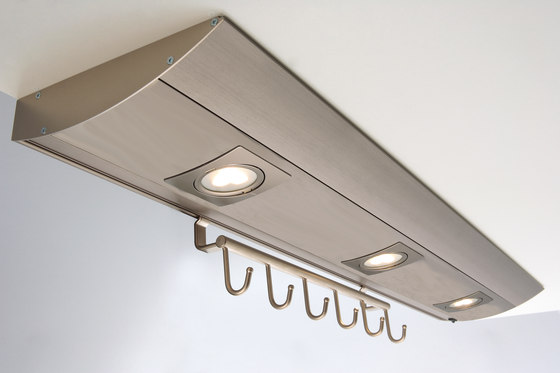 Futura Plus R - Under-Cabinet Luminaire in Customised Lengths with Fittings to Suit by Hera | Under-cabinet lights