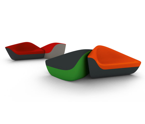 Seating Stones by Walter Knoll | Modular seating systems