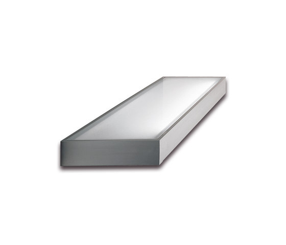 GS2 - Glass Shelf Luminaire with Switch by Hera | Illuminated shelving