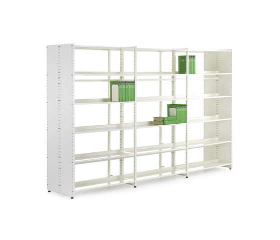 Librum Melamine by Lustrum | Library shelving systems