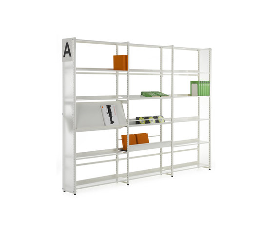 Librum Perspex by Lustrum | Library shelving systems