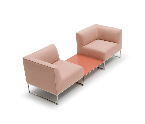 Mell seating group by COR | Modular seating systems