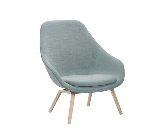 About A Lounge Chair AAL93 de Hay | Fauteuils d'attente