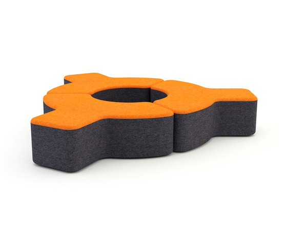 Signs by Loook Industries | Modular seating elements